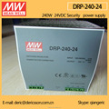MEAN WELL 240W Industrial DIN Rail Power Supply 24V with UL cUL CB CE certificates DRP-240-24