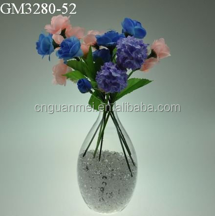 Different Types Clear Glass Vases Factory