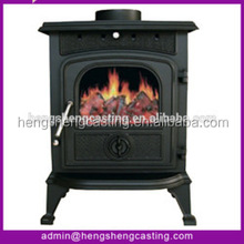 Botou Hengsheng Popular Multi Fuel Cast Iron Wood Burning Stoves