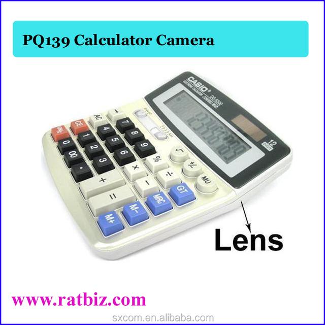 720*480 spy Calculator camera Real Office Business Calculator Hidden PQ139