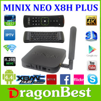 MINIX NEO X8-H X8H Plus Android TV Box Amlogic S812 Quad Core+free A2 Lite 2.4G Wireless Keyboard + Air Mouse