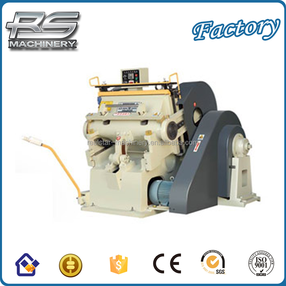New design High quality die cutting and creasing machine