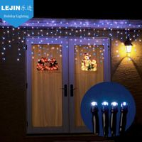Multifunctional multicolor led dripping icicle christmas lights Mainly Festivals outdoor decoration