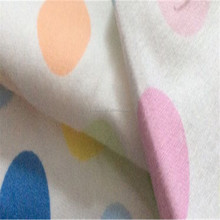 Shijiazhuang Factory!!! cute kids pajama/swaddles cotton printed polka dot flannel fabric 20x10 40x42 150gsm 43/44""