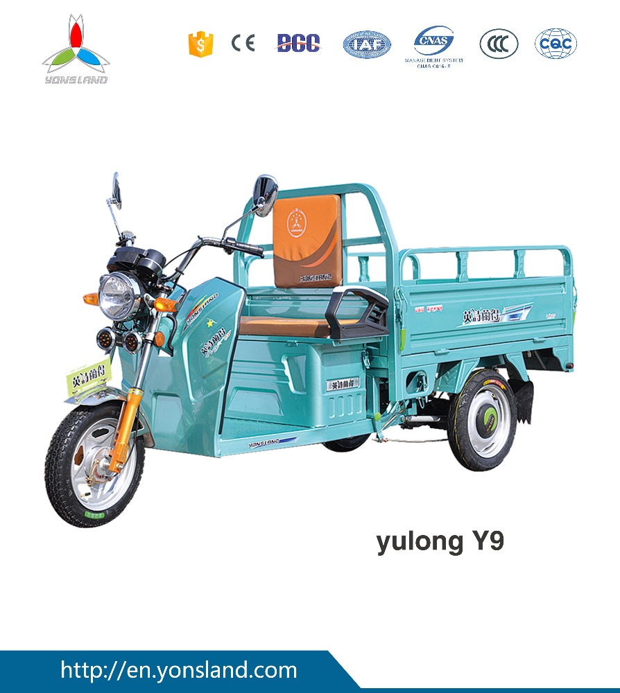 Xuzhou adult tricycle front loading cargo tricycle made in China