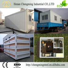 Easy Installation Firm Prefabricated Equatorial Guinea Office/Living Room Container House