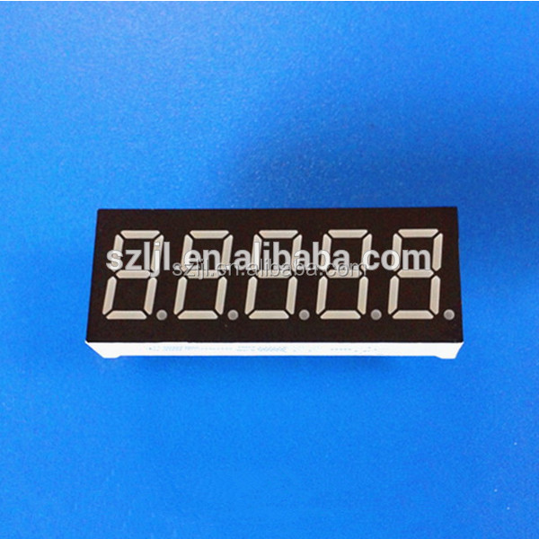 7 segment led display 5 digits gas station led price display super red color