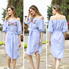 2017 china manufacter wholesale summer fashion sleeveless beautiful women dresses