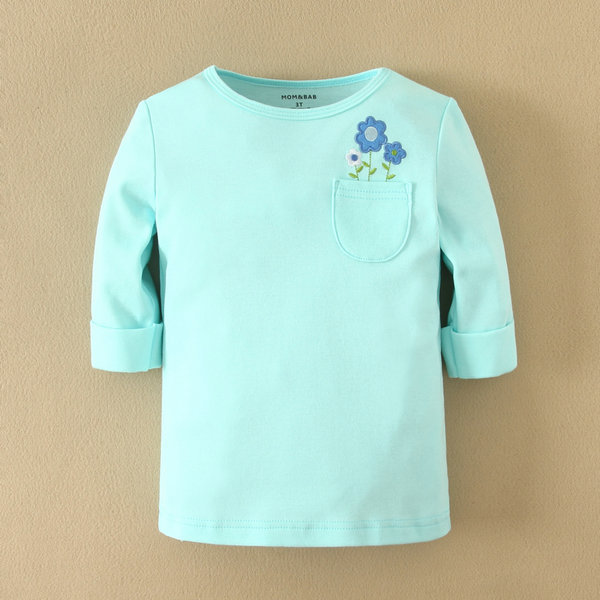 2014 Gorgeous Half-sleeve Girls T-shirt from MOM & BAB Baby Clothes, Infant and Toddler Baby Clothes
