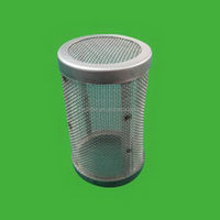 Low price new arrival metallic wire mesh filter element