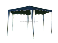 LG-HD4007 Yongkang LanGe metal and PE outdoor hexagon canopy tent 2*2*2m folding gazebo