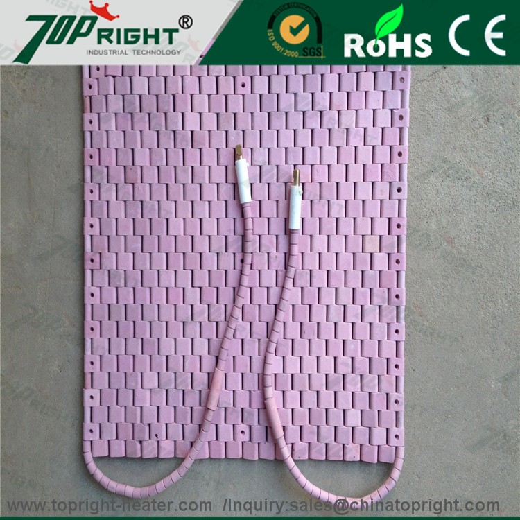 Flexible ceramic pad.Crawler-type Ceramic Heater.High quality.