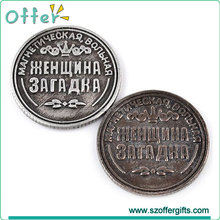 Factory Wholesale Souvenir Metal Custom Old Coin For Sale