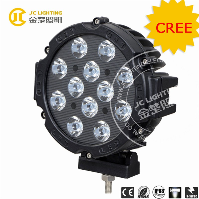 New popular 60w led work light 24v led light auto led light lamp for jeep, truck, crane, excavator, ATV, SUV, off road vehicle