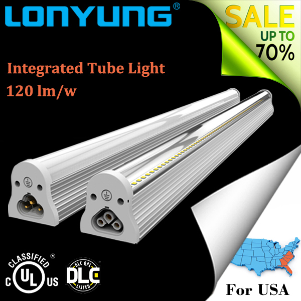 4fts 22W integration t8 integration led fixture tube light, led lighting tube 22 watt
