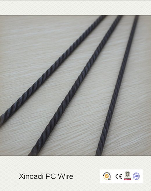 4mm 1670MPa top quality building material, prestressed concrete wire
