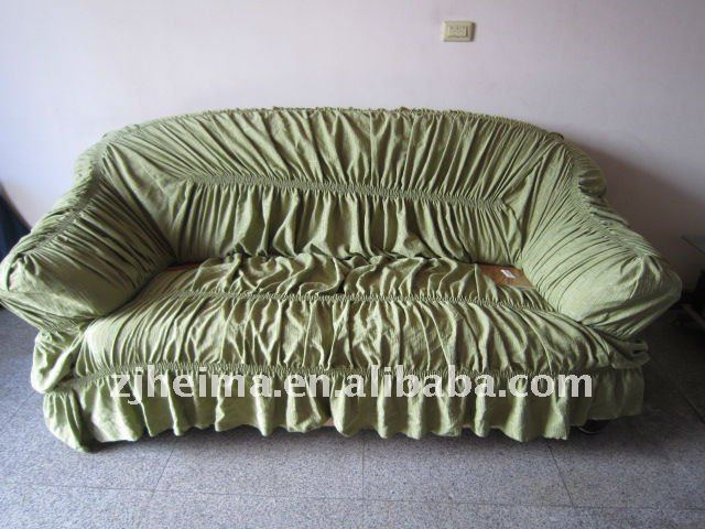 sofa cover with elastic