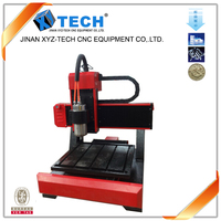 CE certification Jinan pcb stone engraving ring machine mini cutting wood cnc router