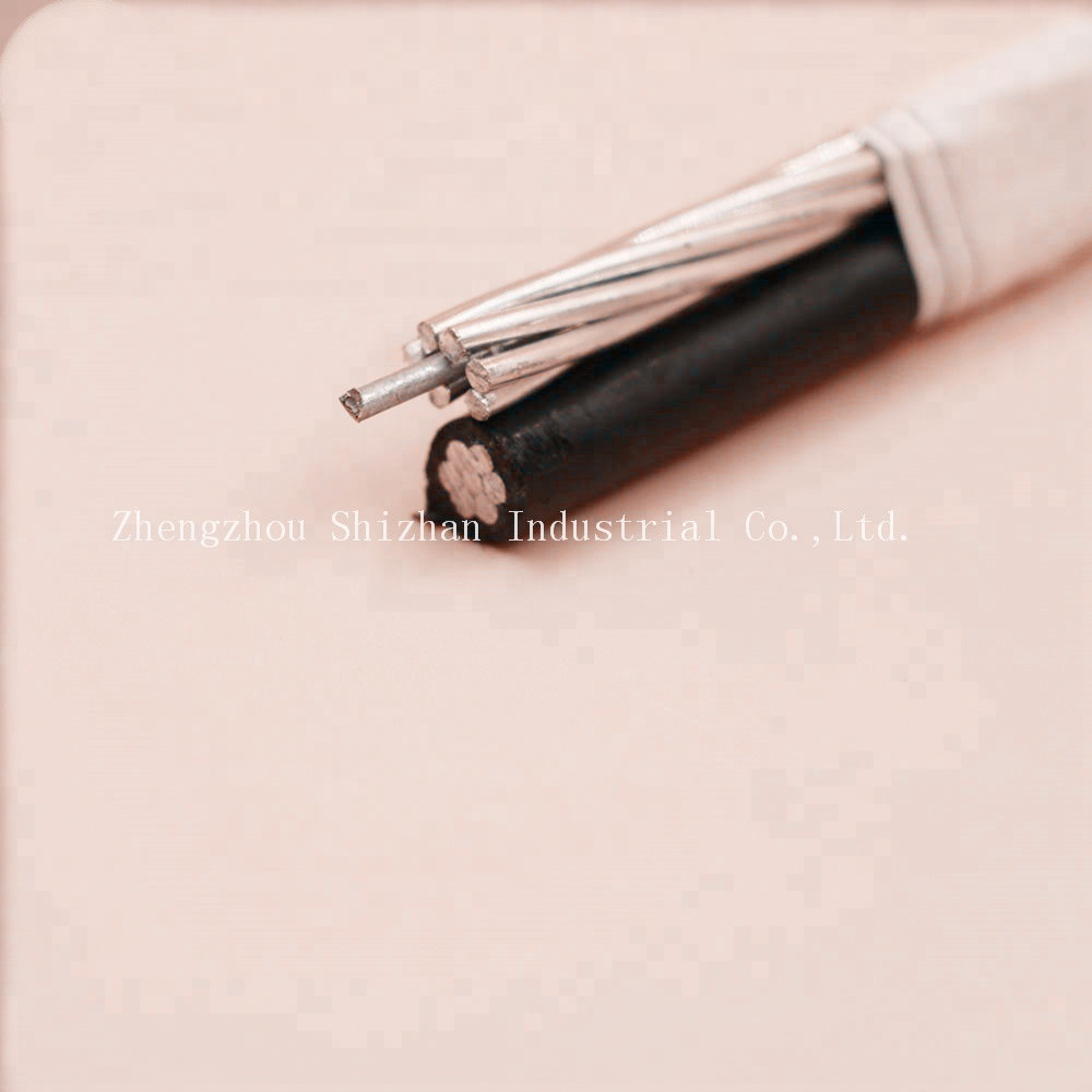 Aluminum Conductor Material and Overhead Application ABC cable Shepherd 6awg