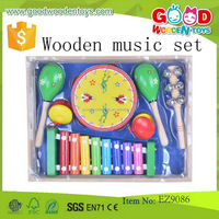 Good Quality Hot Sale Combined Wooden Musical Instruments
