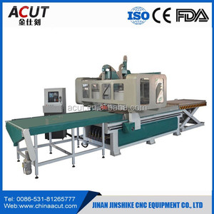 High Precision loading and unloading auto feeding cnc router machine
