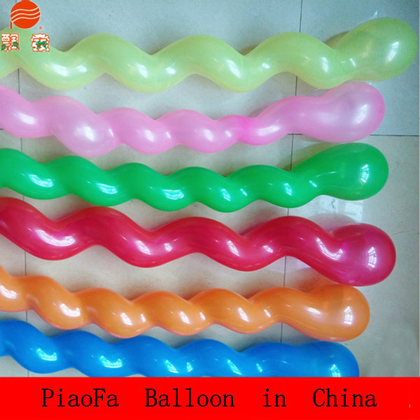 factory customized balloon 2.8g screw balloon types of party balloons