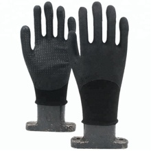 NEWSAIL 13G nylon nitrile sandy with dots work Hand gloves