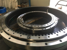 Excavator slewing motor for slewing ring kobelco and plastic ring bearing