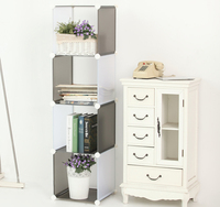DIY cubic storage bookcase cabinet, modern cheap bookcase store, modern kids rooms book stand storage shelf FH-AL0013
