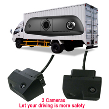 4.5 Inch Night Vision Car Rearview Mirror Backup Camera with Double Recorder DVR