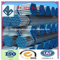 Trade Assurance Professional & rich stock factory ASTM A53 SCH40 Galvanized Steel Pipe