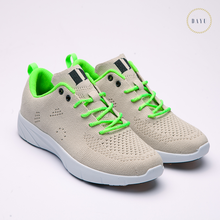 2018 Fashion shoes men casual sport knit upper
