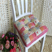 Flowers applique work cushion cover for office chair wholesale cushion