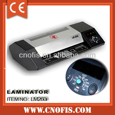 A4 laminating pouch machine
