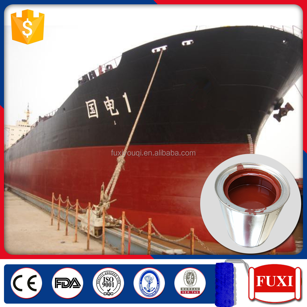 Chlorinated Rubber Aluminum Powder Anticorrosive Primer Boat Marine Paint