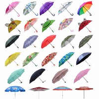 Direct Manufacturer Custom Logo High Quality ruffle umbrella