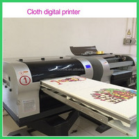 professional small digital flatbed t-shirt printer
