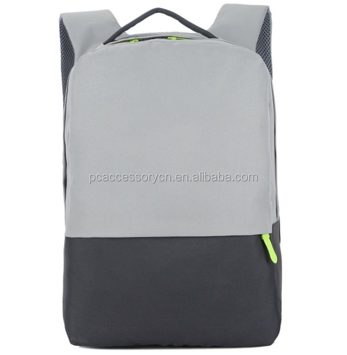 High quality black nylon 15.6 17inch ibm/hp/acer notebook computer laptop backpack travel bag