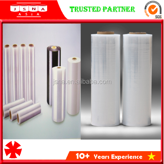 SGS Certified 20mic x 500mm Elastic Properties Stretch Film