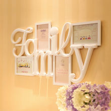 """I Love My Family"" Wall Hanging family tree Photo Frame Picture Home Decor Wedding Gifts"