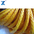 CHNMAX Hot sale 3 strand coloured UHMWPE fishing net rope twine from factory