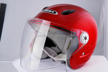 ABS fresh material helmet ECE / DOT approved motorcycle half face helmet (YM-613)