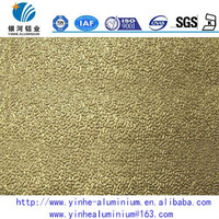 8011 H22 embossed stucco aluminum sheet for heat insulation materials