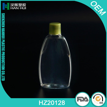 FLAT SQUEEZE BOTTLE FOR BABY SHAMPOO FOR BODY WASH