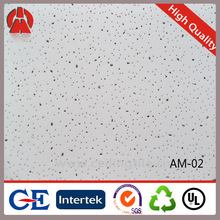Fireproof soundproof mineral wool ceiling tile