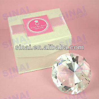 Wedding Gift List Cost : Factory Price Wedding Gift / Personalized Clear Crystal Diamond - Buy ...