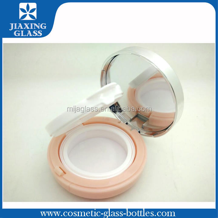 New Design Fancy Round Cosmetic Case Empty Air Cushion bb Foundation Case