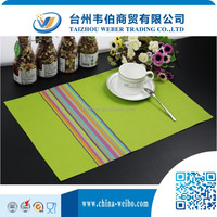 polypropylene placemat custom silicone placemat pvc tablecloth