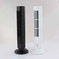 Hot Mini USB No Leaf Bladeless Air Conditioner Cool Cooling Desk Tower Fan