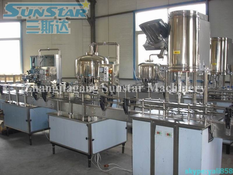 Hot sale 2000-4000bph small business vitamin water production